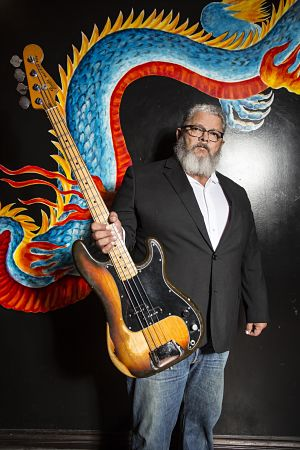 If you don't like the way I play…move me! Bassist Warren Renfrow