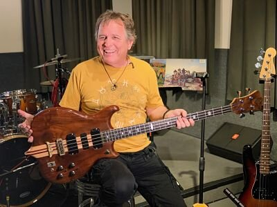 David Goldflies at Taping of Know Your Bass Player on Film - Photo by Joanne Higgins