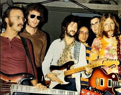 Photo courtesy of Carl Radle Com - Derek and the Dominoes