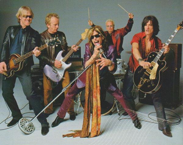 Photo courtesy of Aerosmith Com