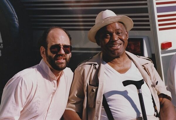 Jeff Ganz and Willie Dixon