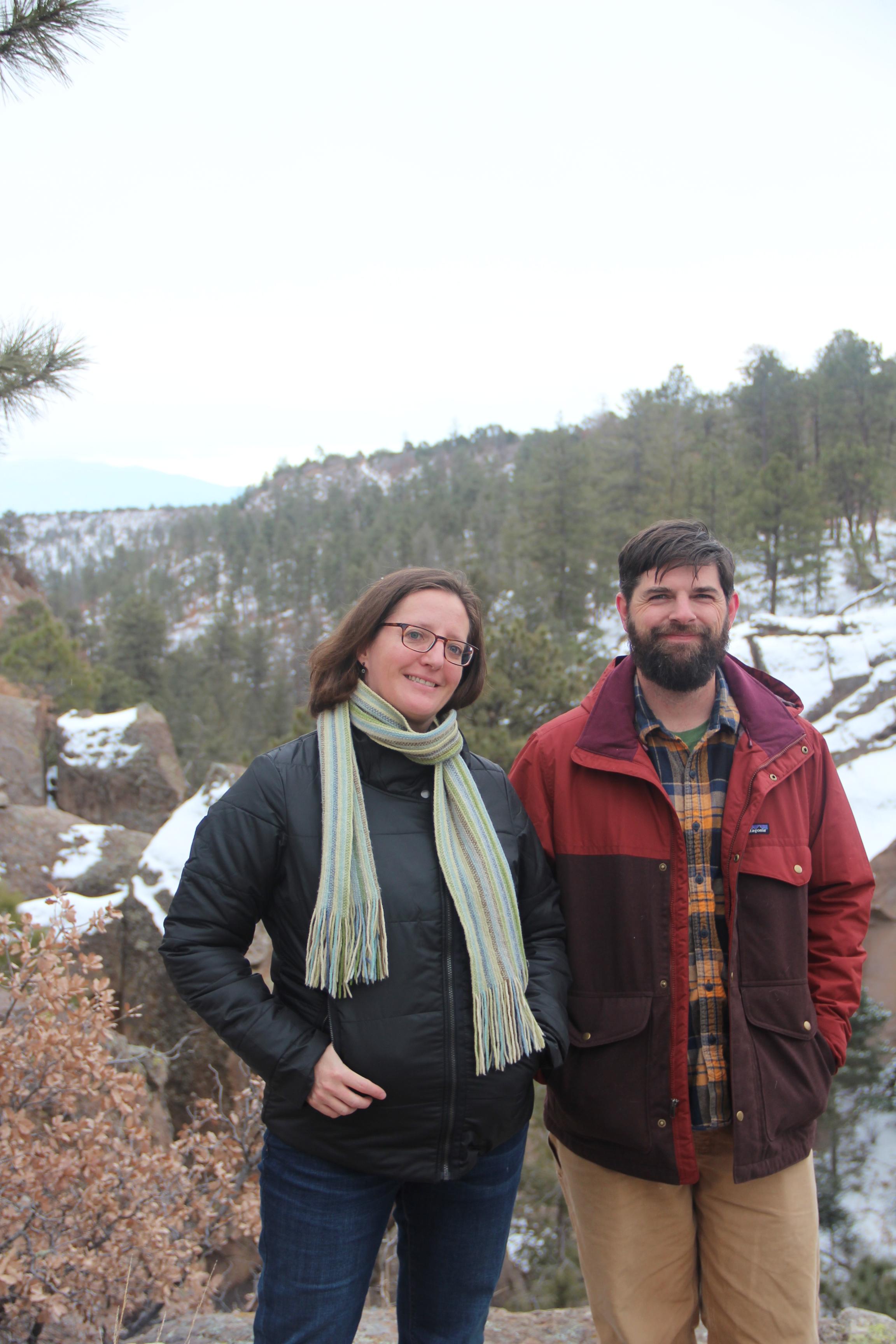 Robyn and Ed - Bayo Canyon