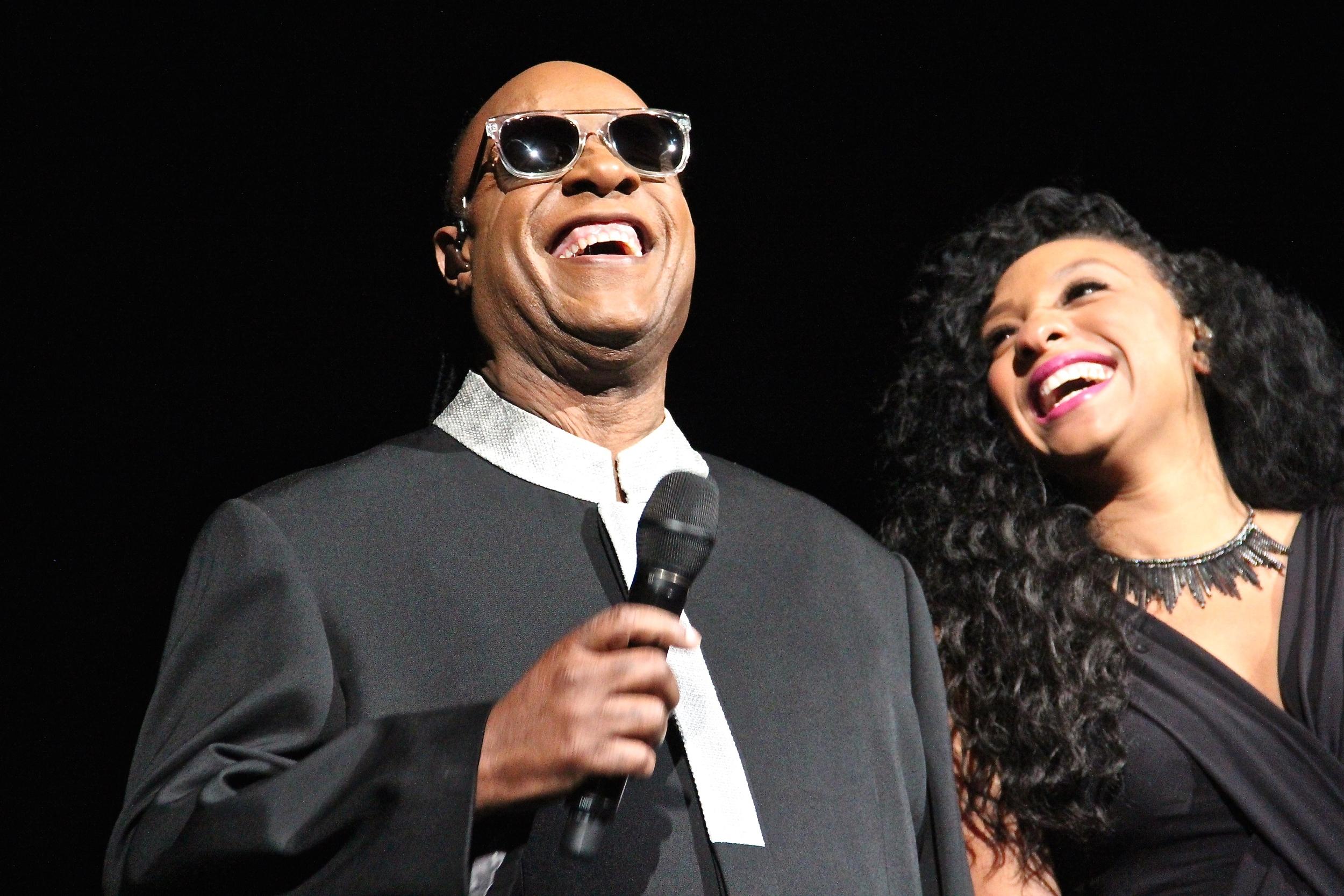 Stevie Wonder at the Sprint Center, 10/23/2015