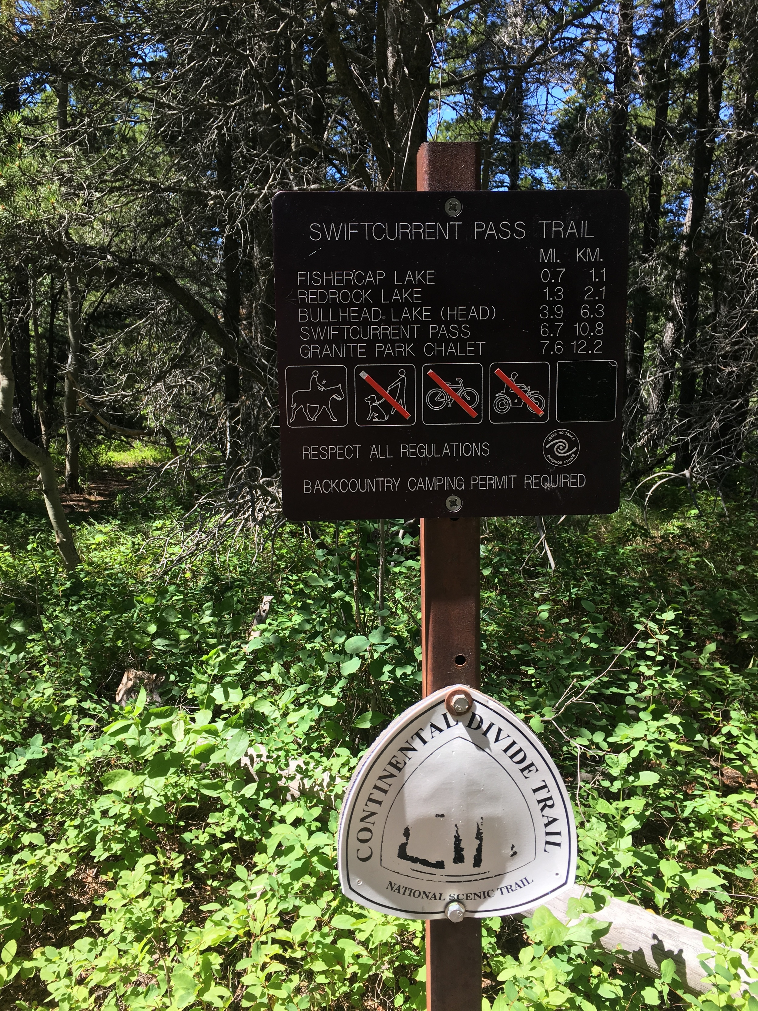 Swiftcurrent trail end sign.JPG