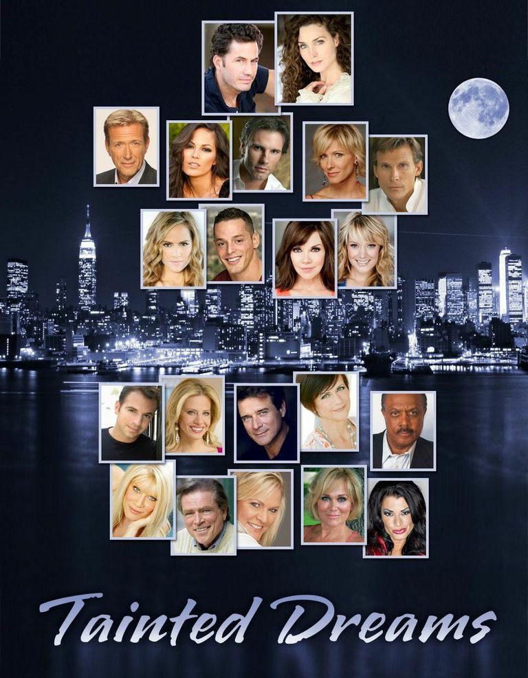"""The All-Star Cast of the Emmy nominated series, """"Tainted Dreams"""""""