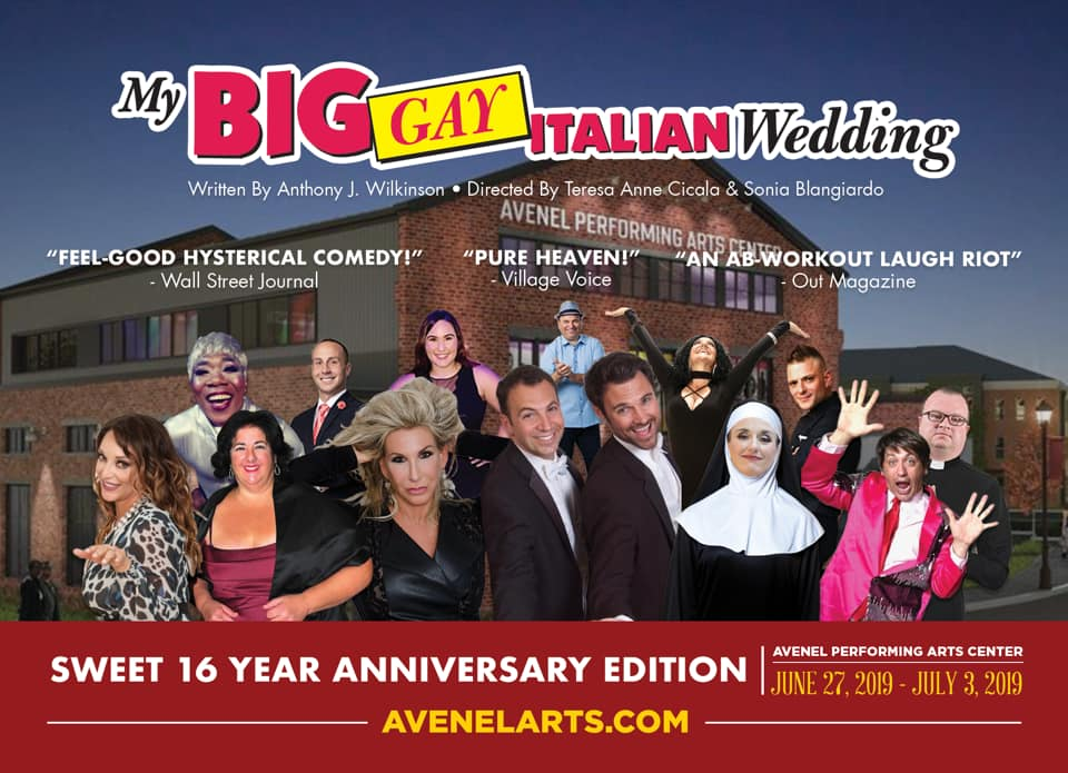 My Big Gay Italian Wedding Sweet 16 Announcement