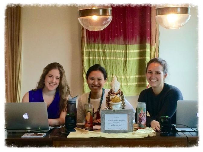 Susie, monica and breanne- flow's happiness team