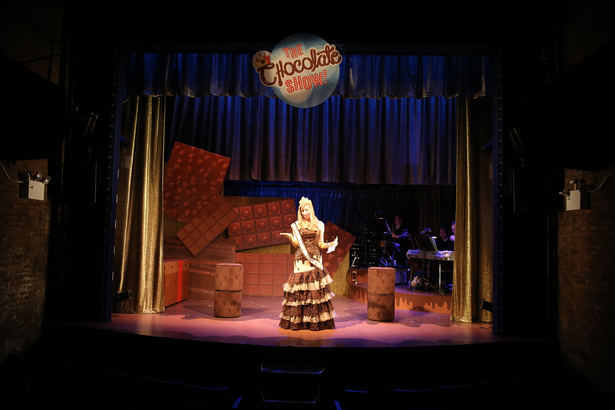 THE CHOCOLATE SHOW! A TASTY NEW MUSICAL