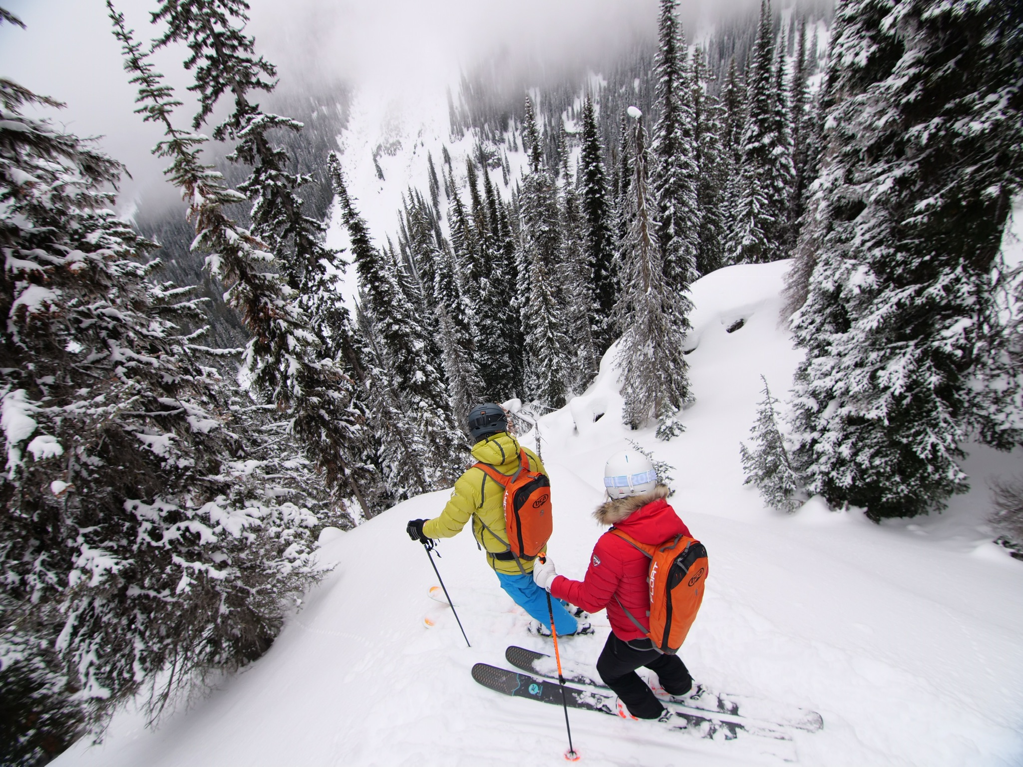 KINGS & QUEEN FOR A DAY - Kingfisher brings big mountain and high-end heli skiing to a new level.