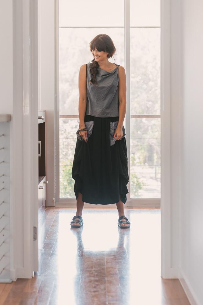 Twisted Cordyline top & Winona skirt