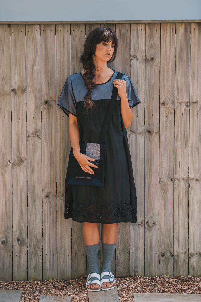 Nasturtium slip, Maude dress & East bag