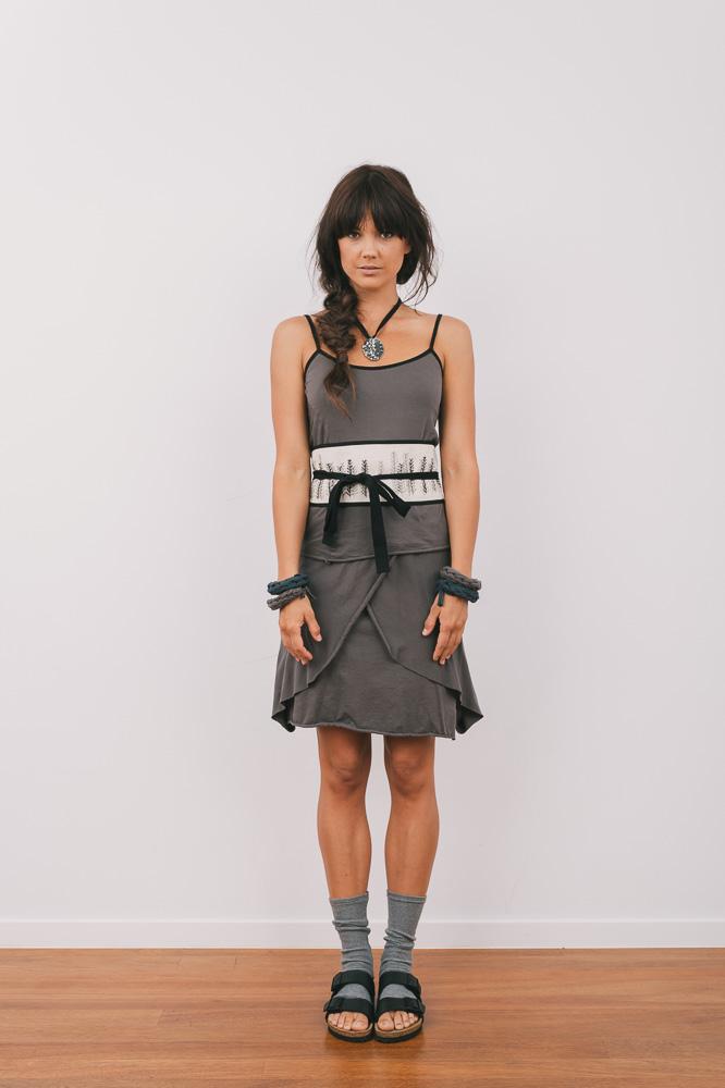 Nasturtium top, Marigold skirt & Spindle obi