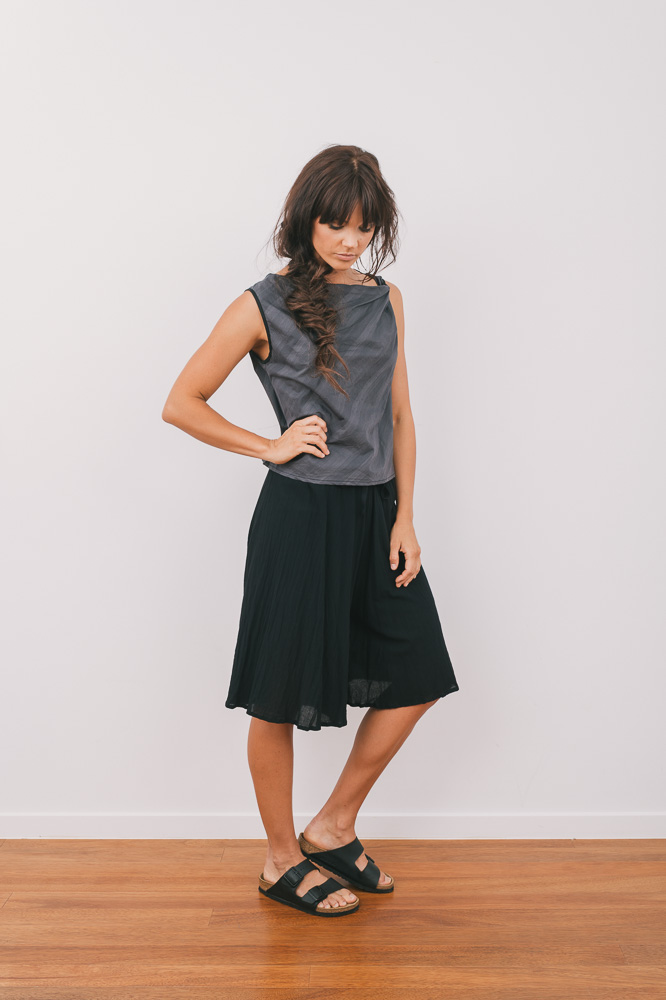 Twisted Cordyline top & Cassidy culotte