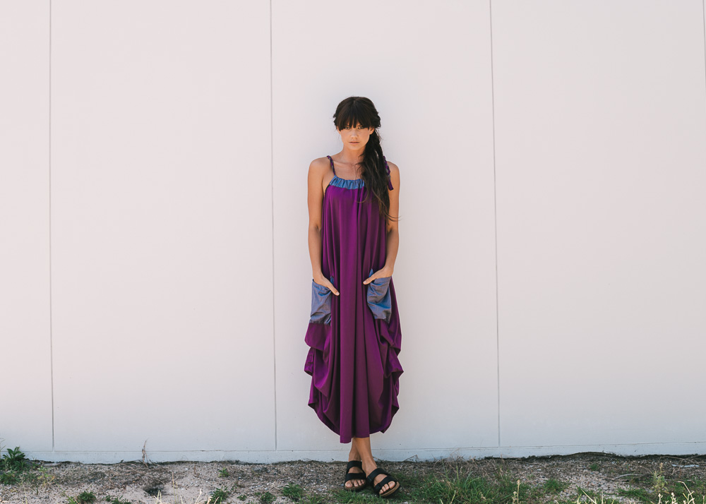 Winona dress in amulet