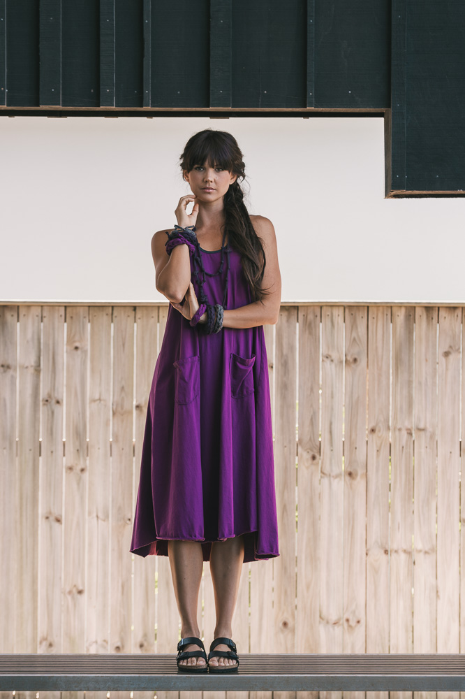 Dita dress in amulet
