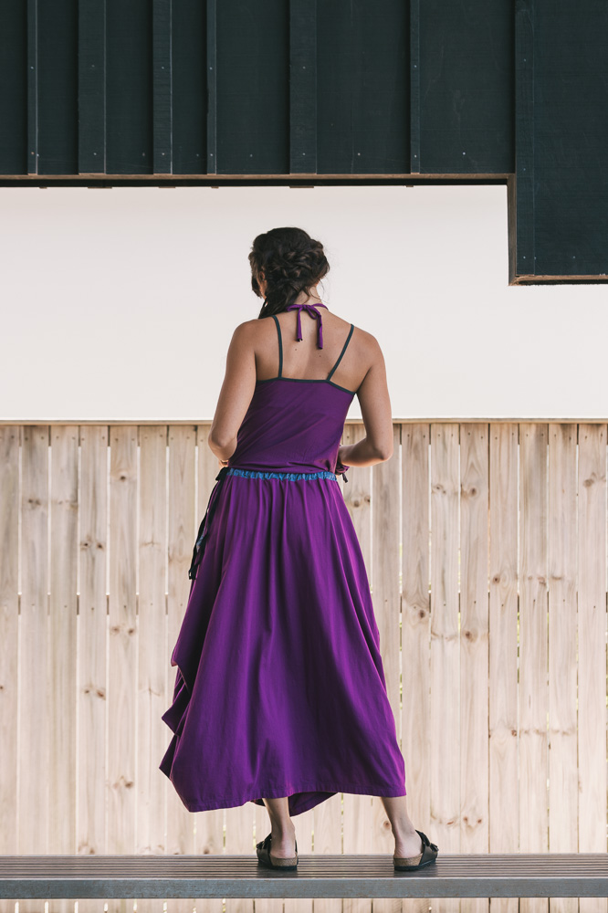 Selma top & Winona skirt