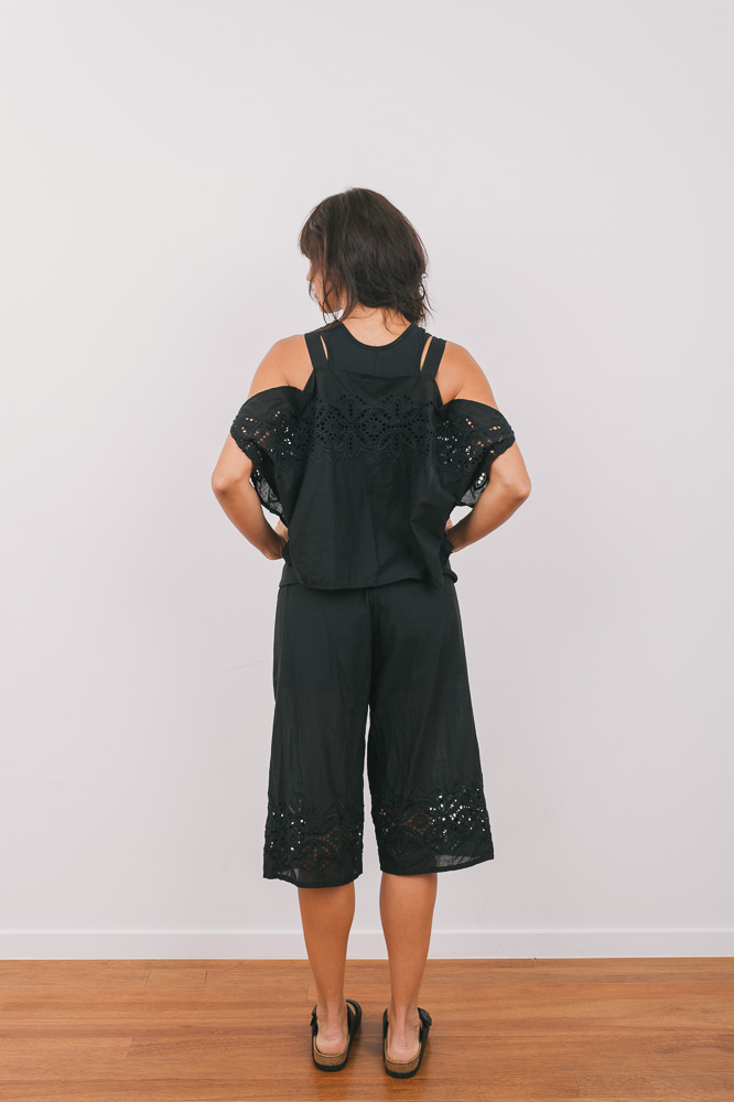 Emily top over Tansy top with Patricia pant