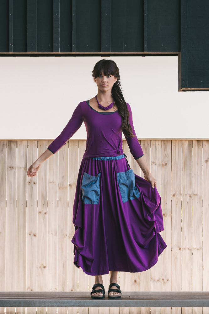 Swivel top, Selma top & Winona skirt