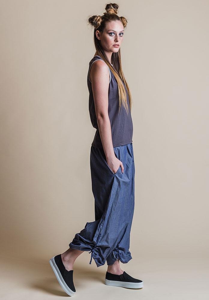 Ada pants denim with shadow Perla tank