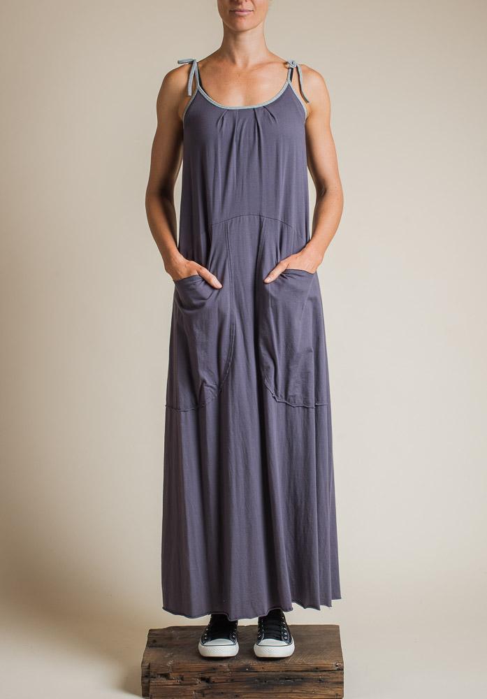 BRIANA MAXI DRESS SHADOW