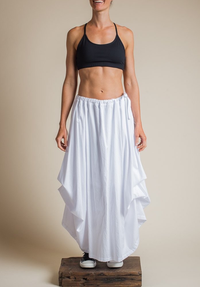 WILLOW SKIRT WHITE (LINED)
