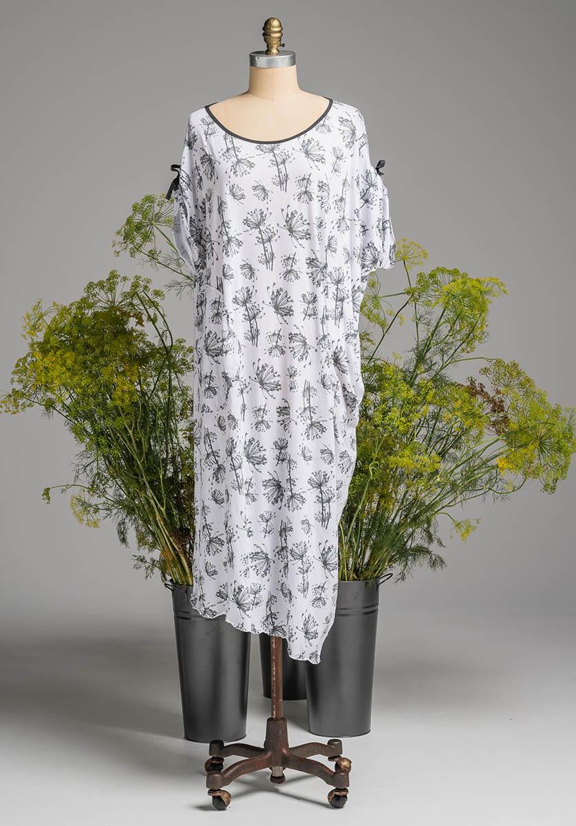 Lore dress white dill