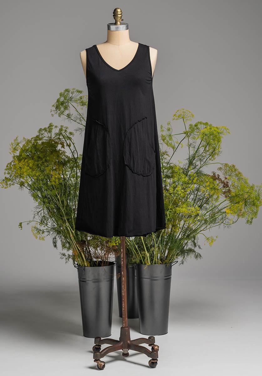 Rose dress black