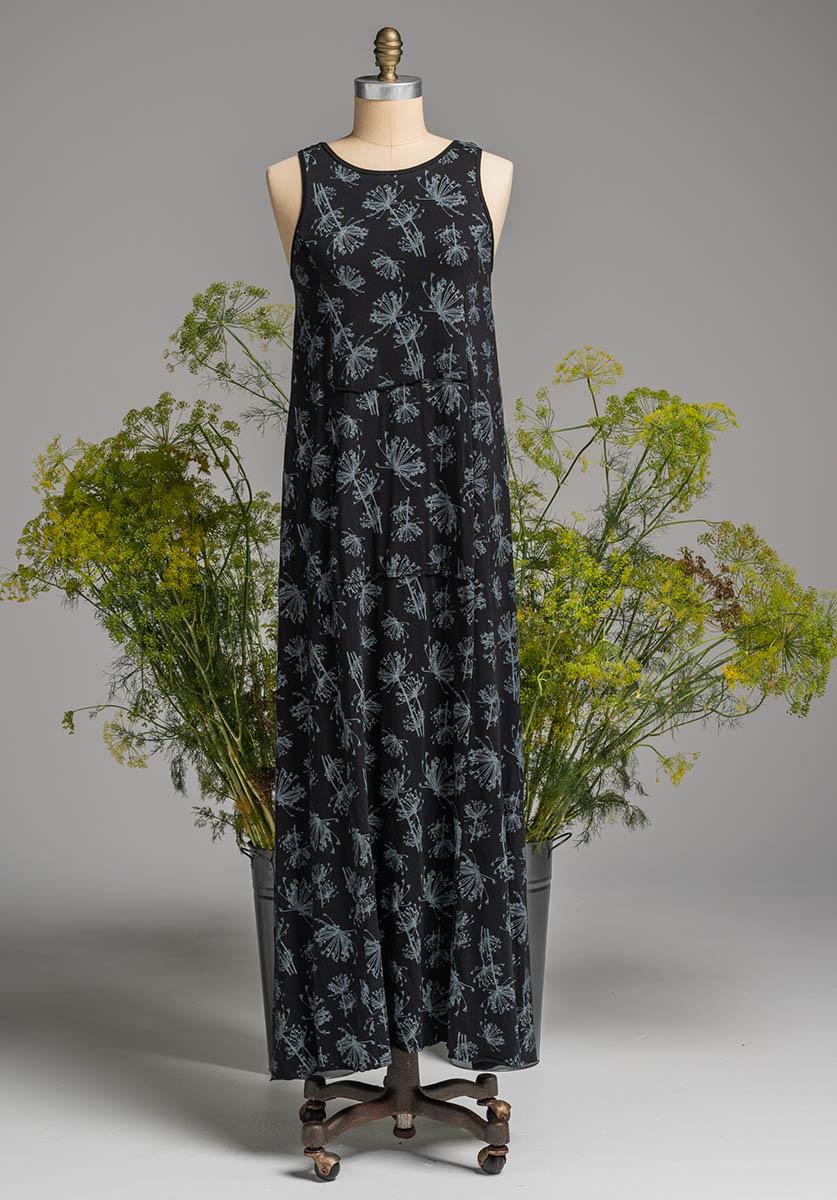 Blythe maxi dress black dill