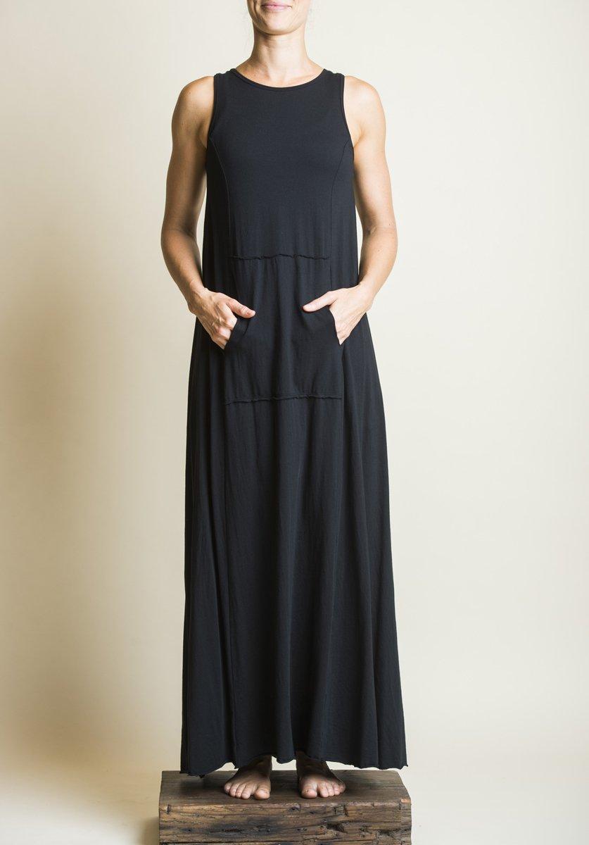 Blythe maxi dress black