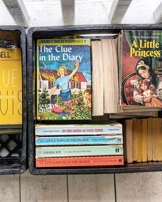 Today, I'm finding so much wonder in the overwhelm. It's making me want to hold on to these books from my childhood forever. These girls taught me so much.  Nancy Drew nurtured my incessant curiosity.  Sara Crewe encouraged me toward a royal resilience in the face of stark loss.  Anne Shirley taught me to own my story with fierce imagination.  Sometimes wonder is the most vulnerable, foolish feeling to feel when the stories get wild. It does not keep us safe from failure or disappointment or pain.  But maybe that's because to feel wonder requires bravery. It requires bravery to see and believe for something different than what the world hands you.  Maybe wonder is the glue that keeps us connected to the warm and courageous parts of ourselves that are able to forgive, breathe, be still, love, hope, and keep living in the midst of great tension.  As I pack up my house and reflect, it is so good to be reminded by these stories that wonder longs to be found in every hard and holy place—perhaps not even just for my bravery and joy, but for my survival as well.