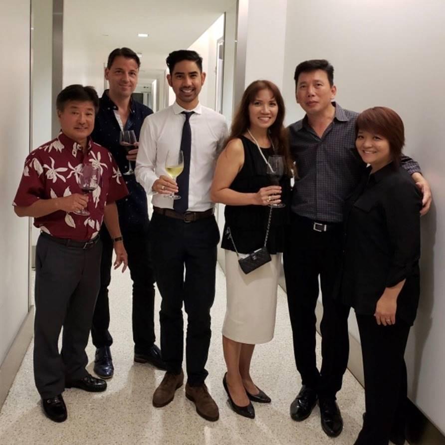 The amazing Luxury Row team!
