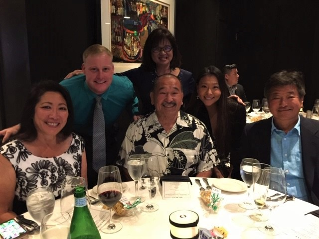 Left to Right: Susan Koki, Cameron Frithsen, Danny Higa, Wendy Nagaishi, Nozomi Horiguchi, Miles Kinoshita