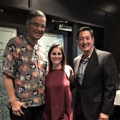 Left to Right: Mufi Hannemann, CEO of HLTA; Vanessa Greene, President of CAH; Buddy Moore, Group Publisher of Where Magazine