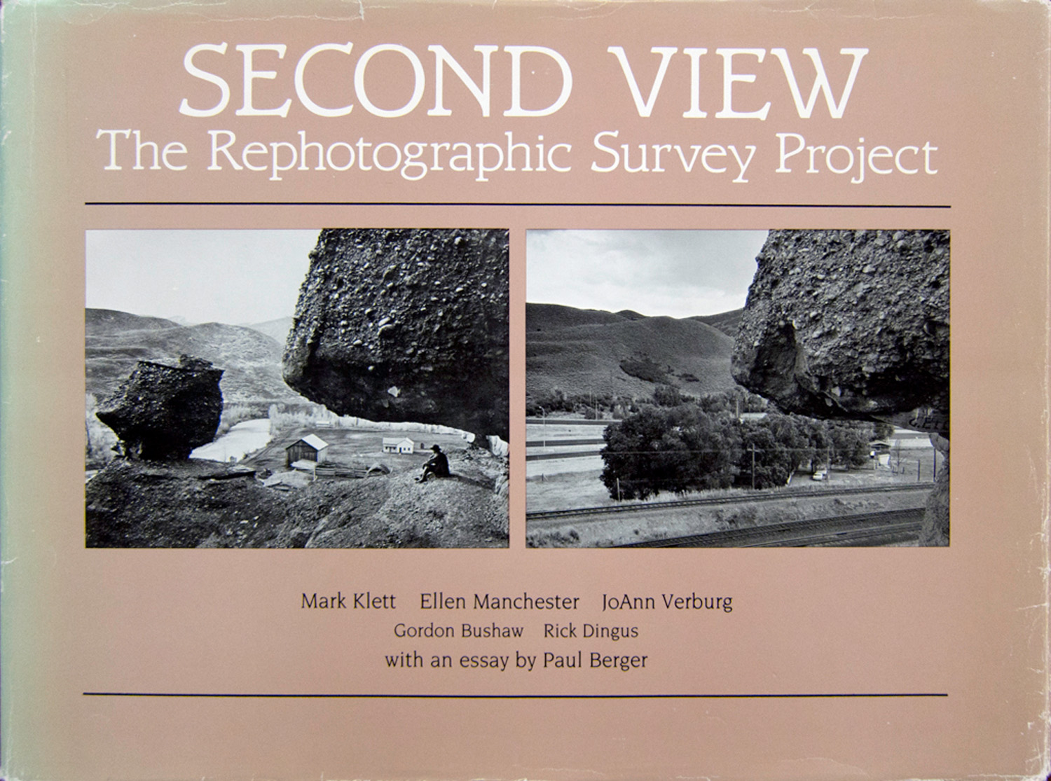 Second View: The Rephoto- graphic Survey Project, with Ellen Manchester and JoAnn Verburg, University of New Mexico Press 1984