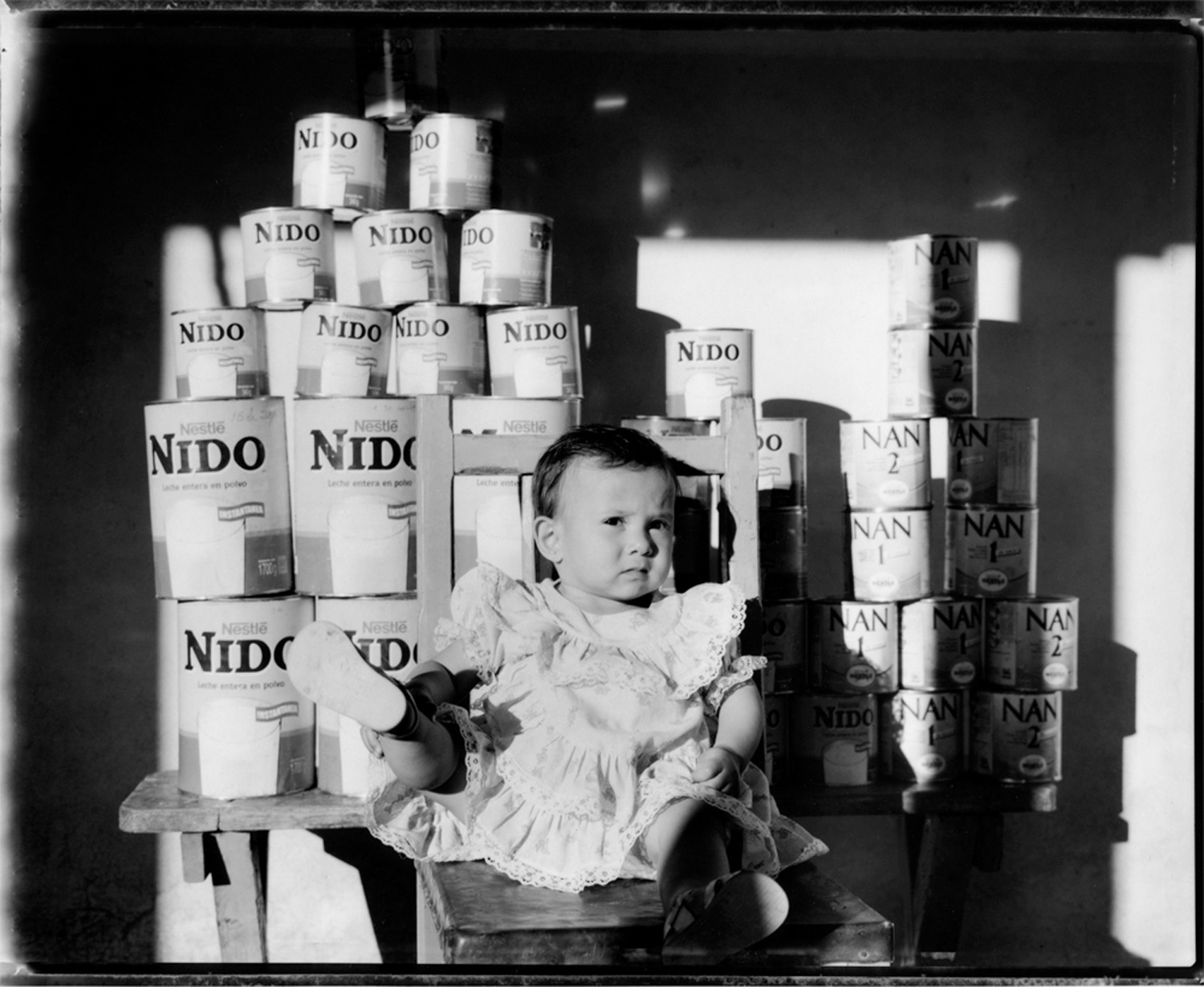 Ramon's granddaughter with every can of formula and milk consumed since her birth, 1990