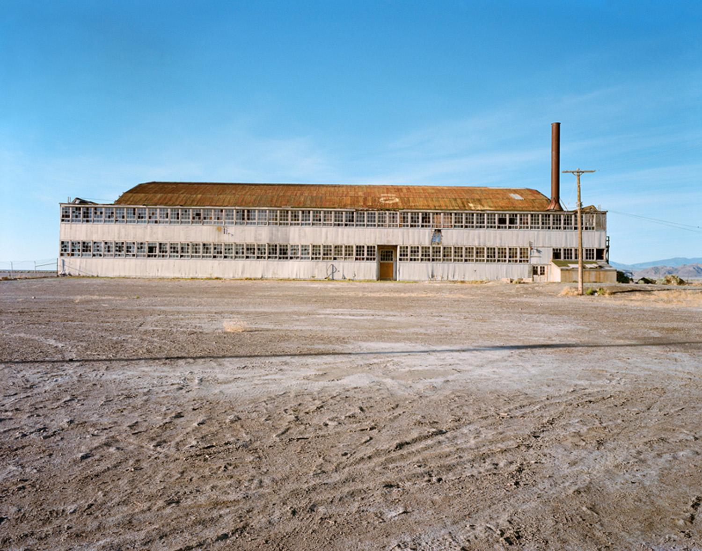 The Hangar that held the bomber Enola Gay