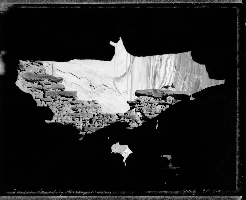 Image formed by Anasazi doorway, 1990