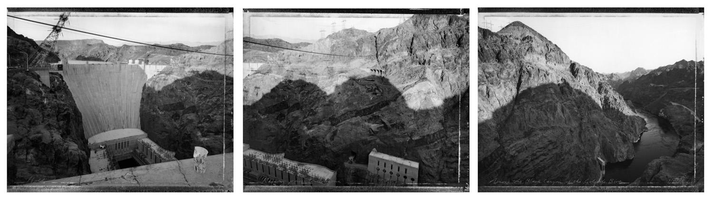 Hoover Dam Triptych, 1985