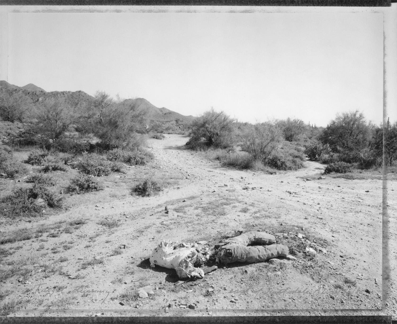 Target dummy, east of Scottsdale, Arizona, 1985