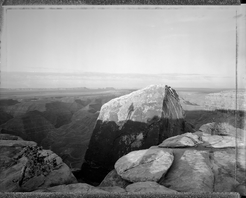 Witness to sunrise, Muley Point, Utah, 1988