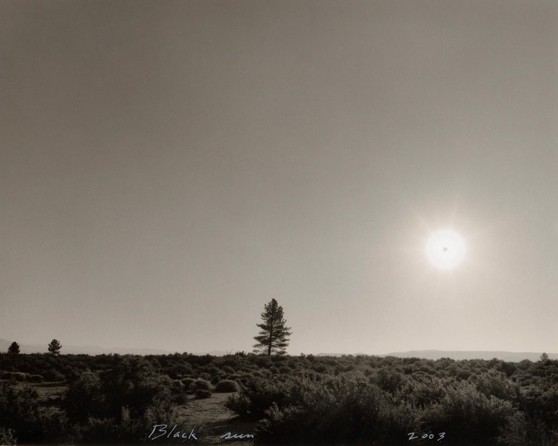 Black sun, Mono Lake, 2003