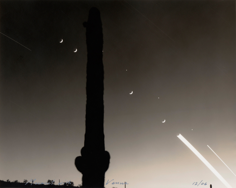 Moonset with Venus, 2006
