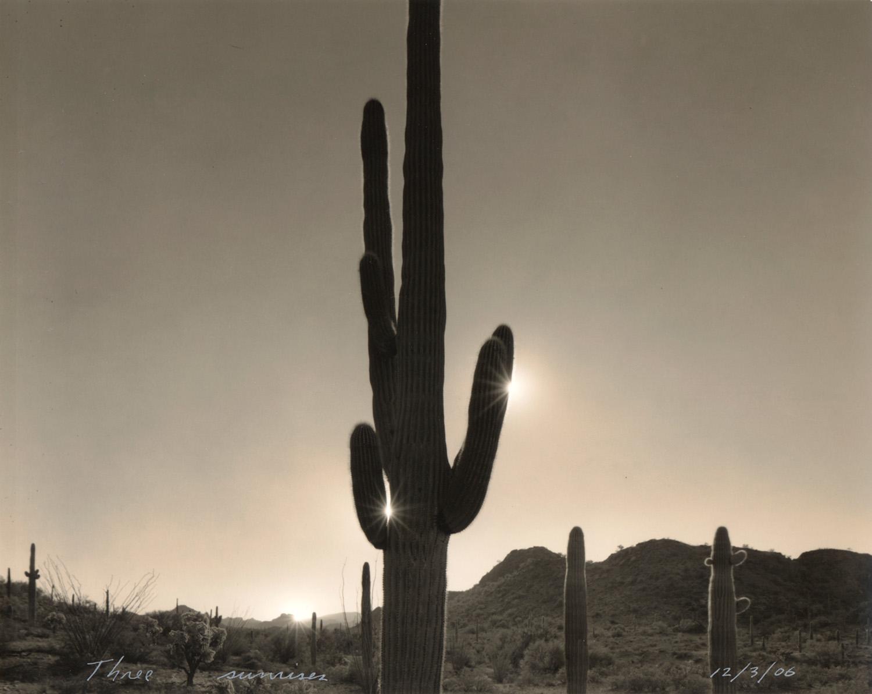 Three sunrises, 2006