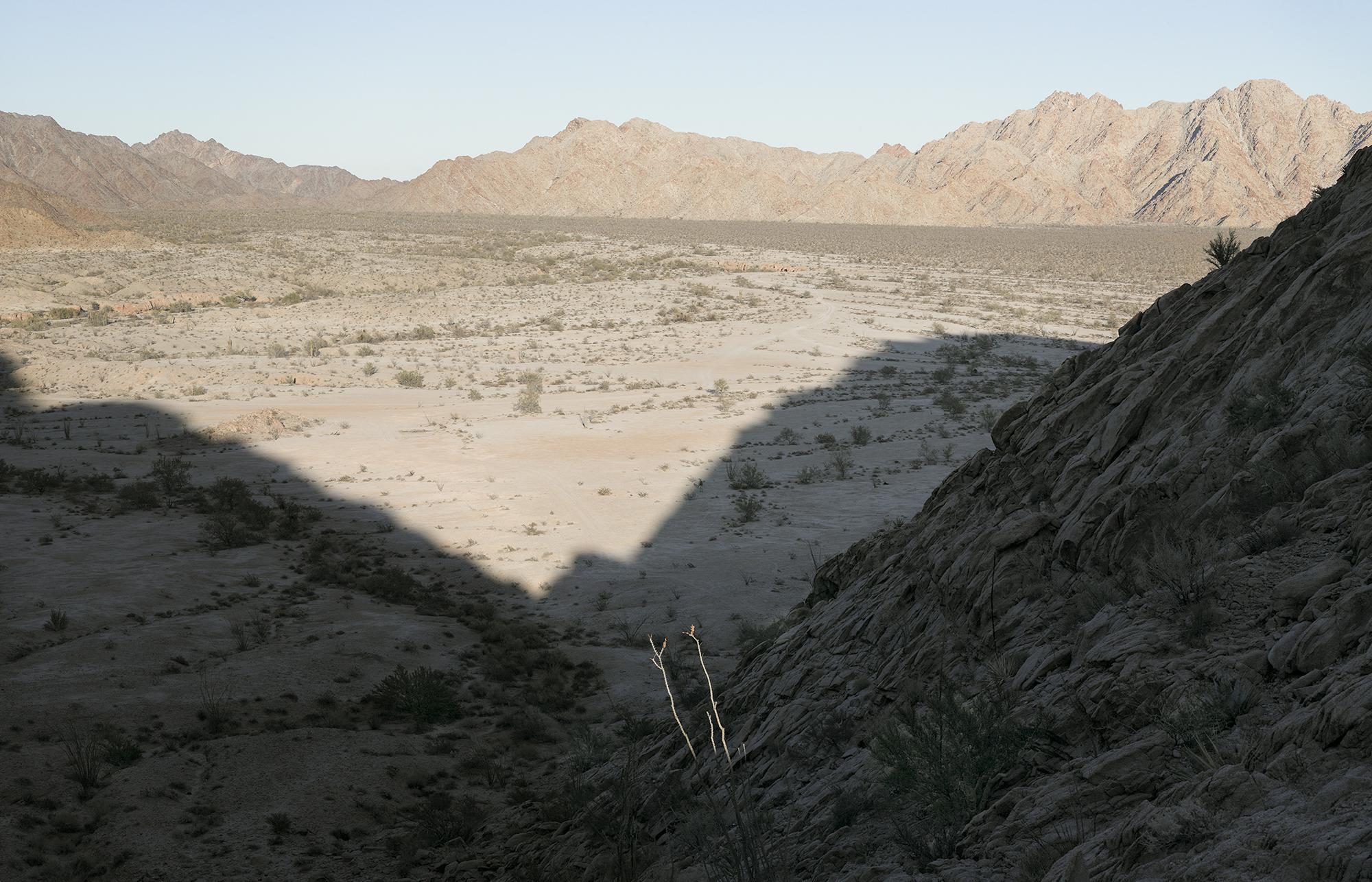 """Rocks near """"Smuggler's Pass,"""" Gila Mountains, 2013"""