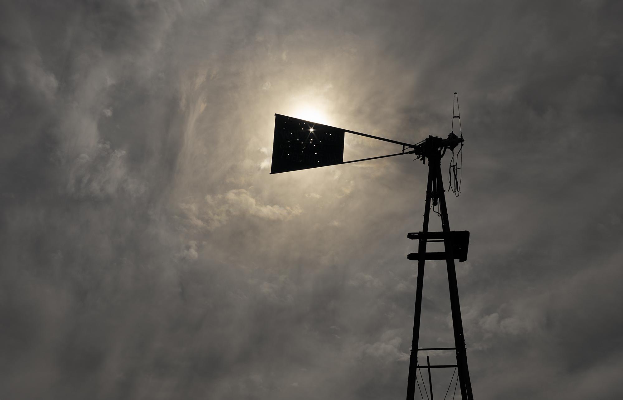 Abandoned windmill, Bates Well, Cabeza Prieta, 2013
