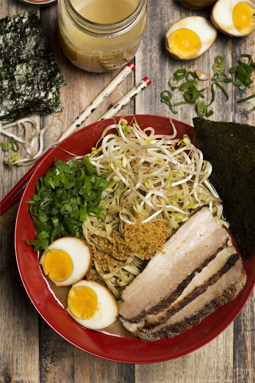 Ramen - El food styling que trabaje para Asia New Kitchen