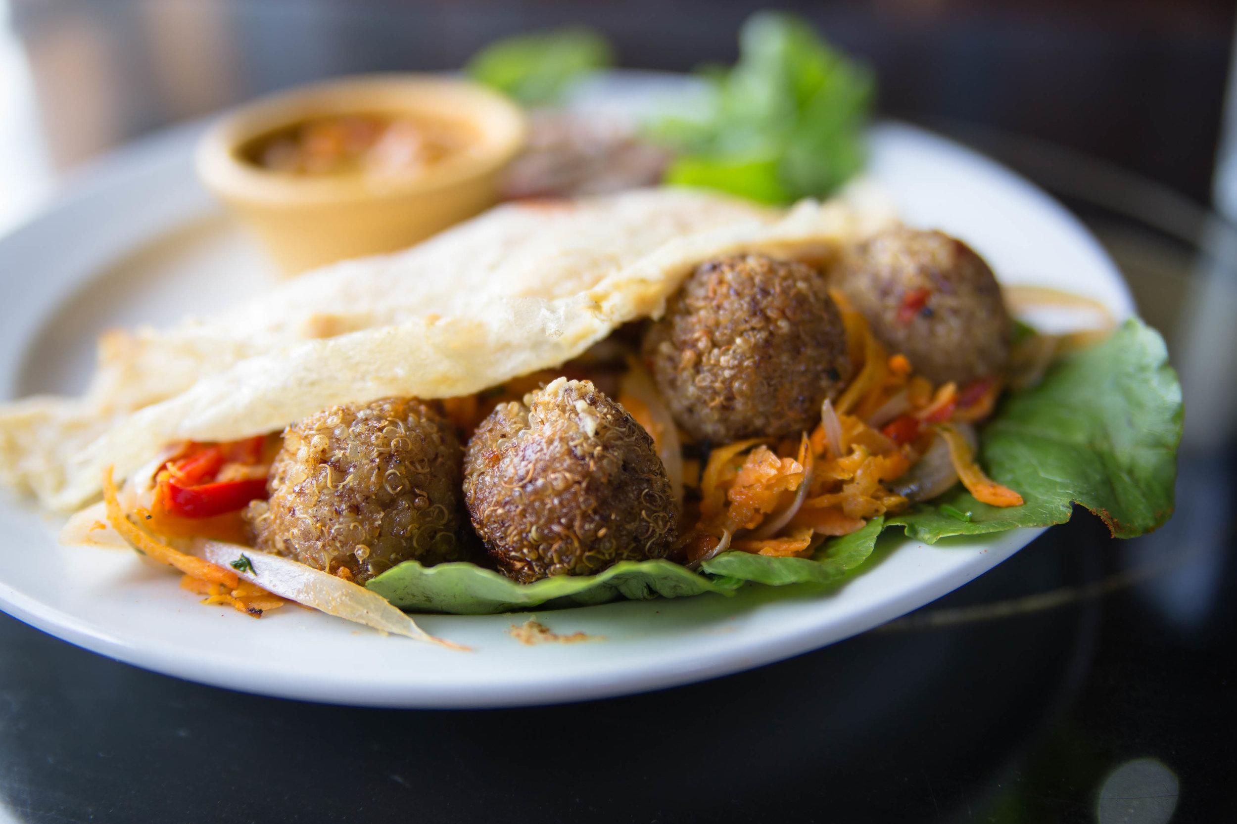 quinoa shawarma