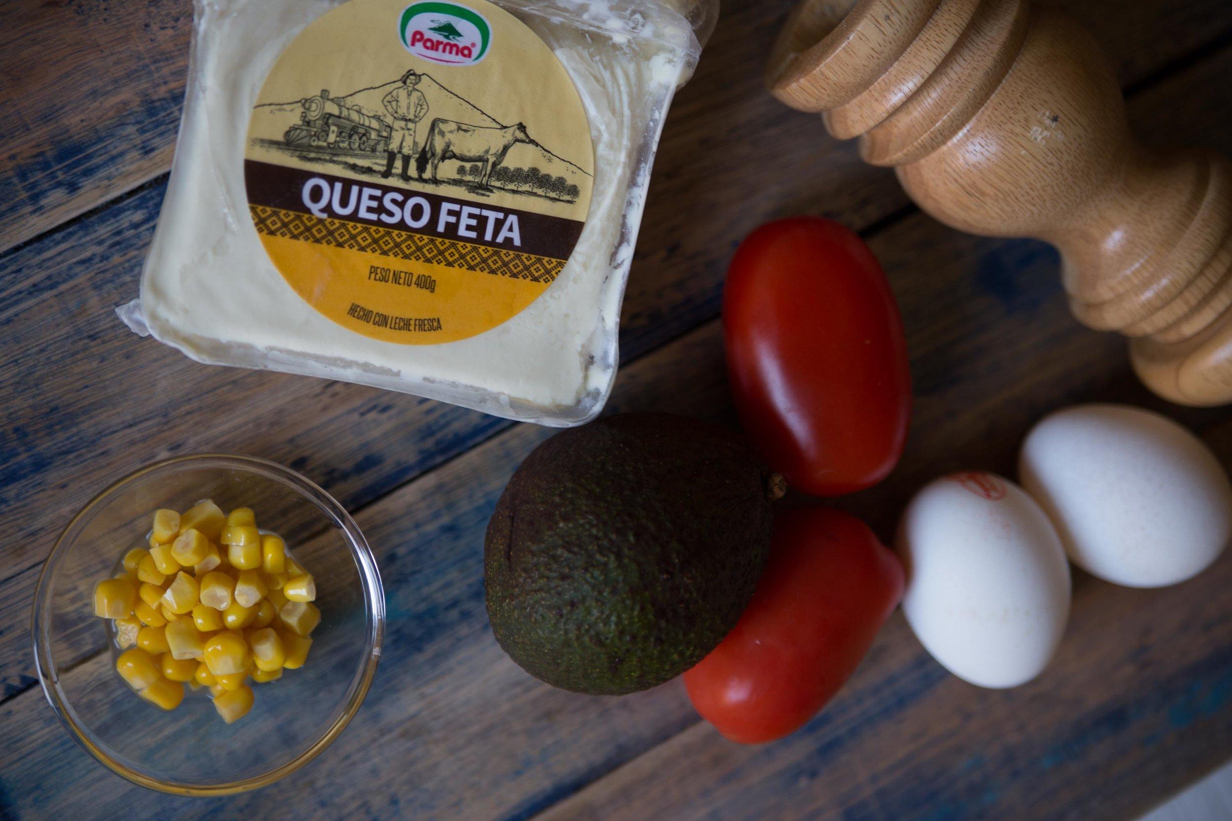 Avocado Toast Greek Style