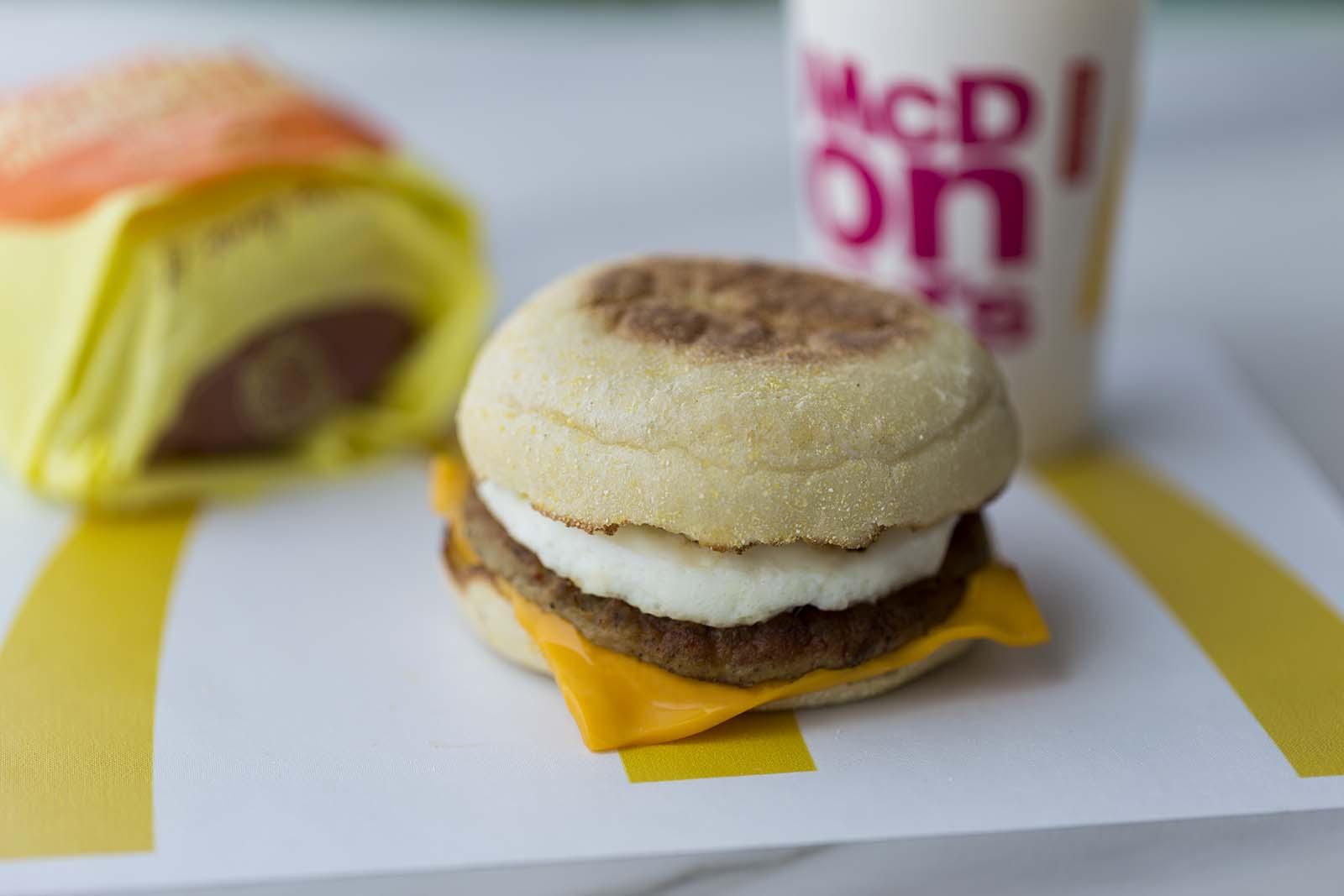 Muffin Salchicha y Huevo