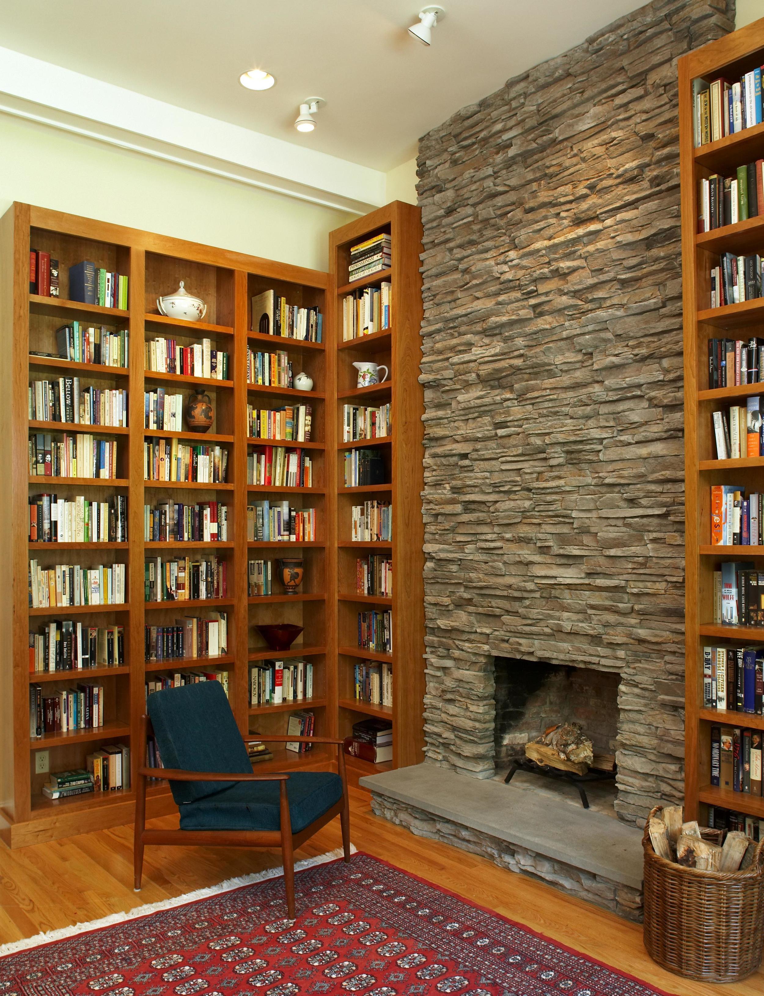 Harvard Family Room & Library